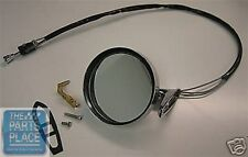 1968 Pontiac Firebird Remote Chrome Outside Mirror - New - Left Hand