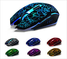 7 LED Cambiare colore 4000dpi OTTICO 6 pulsanti USB wired mouse Mouse PC Laptop