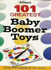 101 Greatest BABY BOOMER TOYS & FADS PRICE GUIDE BOOK for Toys of 1950s 60s 70s