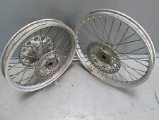 "Yamaha YZ125 1994 Used complete 19"" + 21"" oem wheel set in good condition YZ1469"