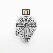 Star Wars Pewter Millenium Falcon 16GB USB Flashdrive - Lucasfilm Approved
