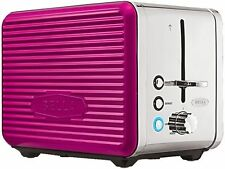 Bella 14175 Linea Collection 2-Slice Toaster, Pink