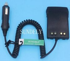 Car Radio Battery Eliminator + Charger Adaptor for Motorola GP328Plus,GP338 Plus