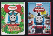 Thomas & Friends - Lot of 2 VG+ NM Used CD - Calling Engine / Ultimate Christmas