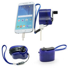 Phone Emergency Charger USB Hand Crank Manual Dynamo For MP4 MP3 Mobile