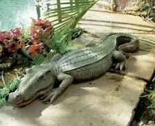 large alligator crocodile mold for plaster or concrete  latex n  fiberglass