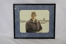Matted Framed Signed Movie Still Photo SEAN CONNERY w/Hat Autographed Picture