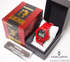 G-SHOCK One piece MONKEY D LUFFY Limited DW-6900FS JAPAN Free shipping EMS Watch