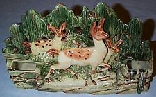 McCoy Pottery 1954 FAWN PLANTER Nice Detail!