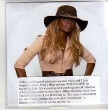 (AL338) MJ Blige, MJB Da MVP - DJ CD
