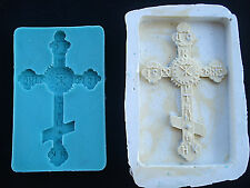 Silicone Mould A VINTAGE CROSS Sugarcraft Cake Decorating Fondant / fimo mold