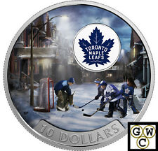 2017 $10FINE SILVER COIN PASSION TO PLAY: TORONTO MAPLE LEAFS® 1/2oz.(NT)(17856)