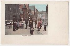 The Street Organ, PM & Co. Early UB Postcard, B609