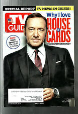 TV GUIDE-3/2015-KEVIN SPACEY-HOUSE OF CARDS-SHAMELESS-AMERICAN CRIME-CSI:CYBER