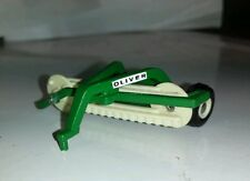 1/64 ertl farm toy custom agco oliver side delivery hay rake white free shipping