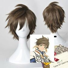 Tales Of Zestiria Sorey Short Brown Cosplay Wigs+Gift Hairnet
