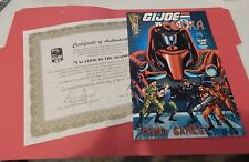 GI JOE ~ 2010 COMIC & CERT OF AUTHENTICITY ~ VACATION IN THE SHADOWS JOECON