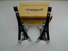 Vintage NOS Classic 70's Campagnolo Nuovo Record Toe clips Large Rare