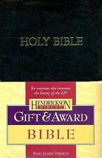 NEW HOLY BIBLE KING JAMES VERSION HENDRICKSON GIFT & AWARD BIBLE RED LETTER KJV