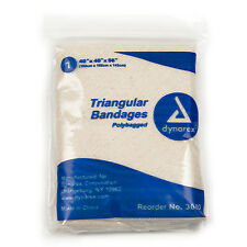 """Triangular Bandages 12 bandages per box, size 40"""" ×40"""" ×56"""""""