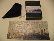 VINTAGE WENTWORTH WOODEN 250 PIECE JIGSAW PUZZLE CONCORDE LONDON PANORAMA THAMES