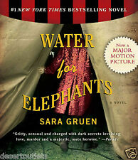 NEW! Water for Elephants by Sara Gruen [Audiobook]
