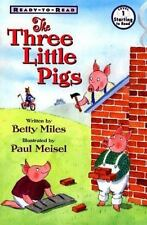The Three Little Pigs Ready To Read-ExLibrary