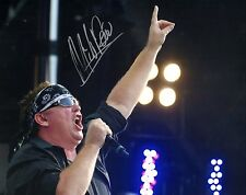 GFA Loverboy Band Frontman * MIKE RENO * Signed 8x10 Photo M7 PROOF COA