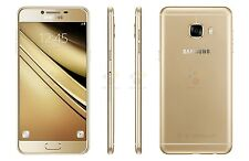 "Samsung Galaxy C5 C5000 Gold 5.2"" 16MP 32GB 4GB RAM Android Phone By FedEx"