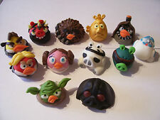 STAR WARS ANGRY BIRDS *pick any 6 characters* edible cake cupcake decorations