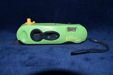 Vintage Polaroid Green I-Zone Pocket Point & Shoot Instant Film Camera Retro