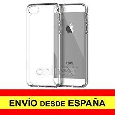 Funda Silicona para IPHONE 5, 5G, 5S Carcasa Transparente ¡ESPAÑA! a1543