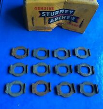NEW OLD STOCK JOB LOT 12 STURMEY ARCHER 3 SP HUB AXLE CONE LOCK WASHERS,RALEIGH