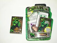 2 set's of marvel comics the hulk playing cards.