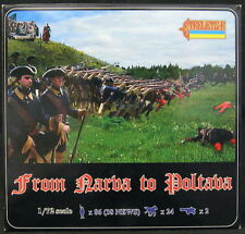 Strelets Models 1/72 FROM NARVA TO POLTAVA Figure Set