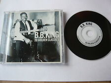 B.B. BB KING 20 GOLDEN CLASSICS - 741157093926 CD FAST POST