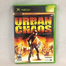 Urban Chaos Riot Response Video Game For XBOX Live Online Enabled Rated M Mature