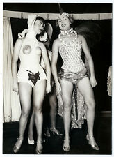 photo danseuses cabaret vers 1950 pin-up La Nouvelle Eve curiosa Paris