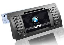 AUTORADIO GPS 2DIN BMW E39 E53 X5 USB SD DIVX MP3 INTERNET 3G NO DOGANA