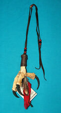 Eagle Claw Tailsmen Necklace or Rearview Mirror Ornament Native American made 06