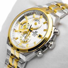 IMPORTED CASIO EDIFICE EF-556SG 7AV PREMIUM GOLD CHRONOGRAPH MEN WATCH