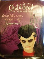 CAST A SPELL DREADFULLY SCARY VAMPIRE WIG NEW