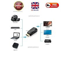 HDMI Male to VGA Female 1080p Video Converter Adapter With 3.5mm Audio Cable -UK