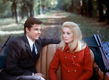 PHOTO BELLE DE JOUR - CATHERINE DENEUVE ET  JEAN SOREL - 11X15 CM  # 1