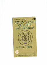 THE SEVENTEENTH CENTURY BACKGROUND-Basil Willey
