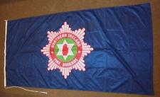 Genuine issue Northern Ireland Fire Brigade Flag 86cm x 173cm