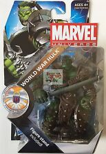 "MARVEL UNIVERSE WORLD WAR HULK Hasbro 2010 3.75"" INCH ACTION FIGURE"