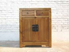 Cat toilet in natural wood dresser country-style metal fitting entrance to the r
