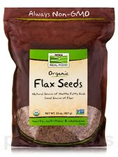NOW� Real Food - Flax Seed - 32 oz (907 Grams) by NOW