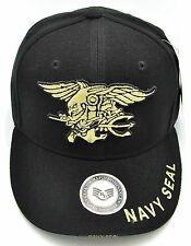 NAVY SEAL Cap Hat US Special Warfare Insignia Trident United States Military NWT